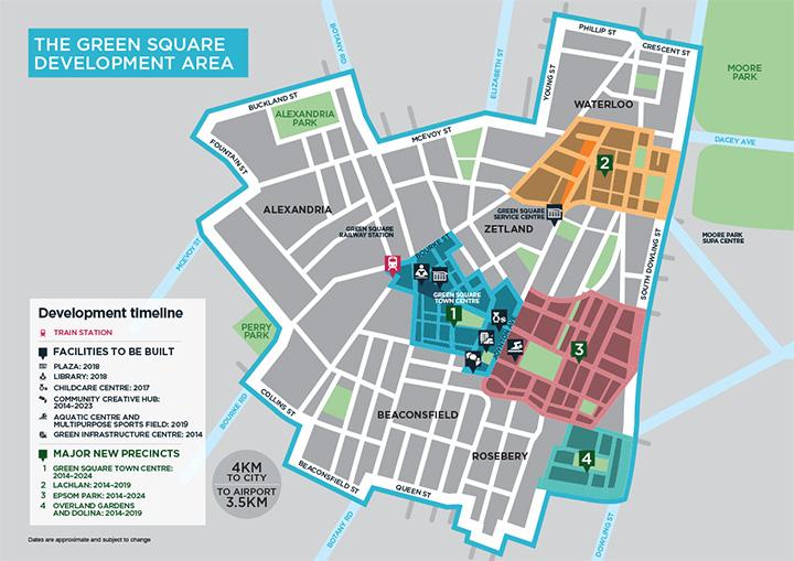 Green Square Development Area