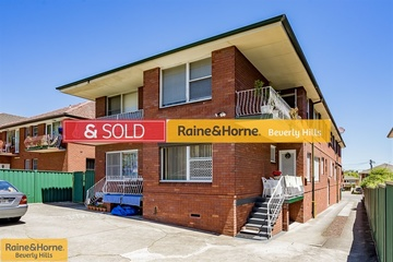 Recently Sold 5/10 Denman Avenue, WILEY PARK, 2195, New South Wales