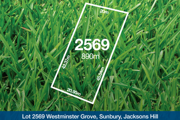 Recently Sold Lot 2569 Westminster Grove, SUNBURY, 3429, Victoria