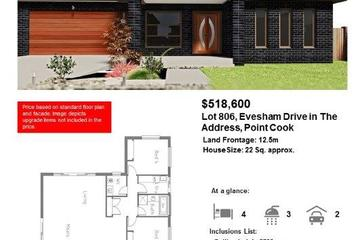 Recently Sold 806 Evesham Drive, POINT COOK, 3030, Victoria