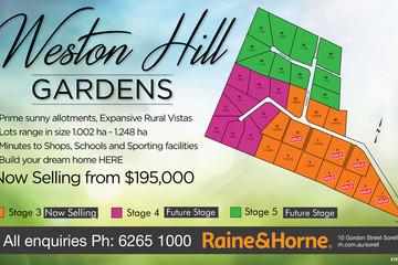 Recently Sold Lot 9 Weston Hill Gardens (off Weston Hill Road), SORELL, 7172, Tasmania