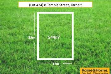 Recently Sold (Lot 424) 8 Temple Street, TARNEIT, 3029, Victoria
