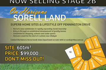 Recently Sold Lot 10 On Horizons, SORELL, 7172, Tasmania