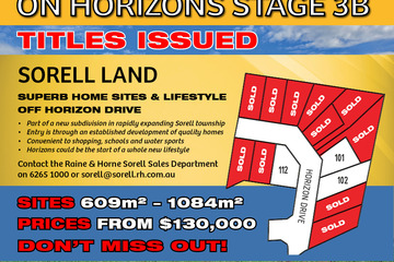Recently Sold Lot 102 Horizon Drive, SORELL, 7172, Tasmania