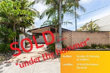 Recently Sold 31 SUNBRITE AVENUE, MERMAID BEACH, 4218, Queensland
