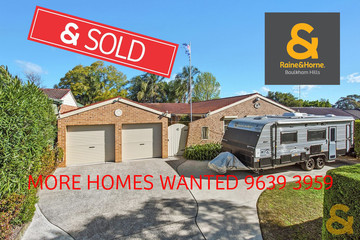Recently Sold 42 Capricorn Road, KINGS LANGLEY, 2147, New South Wales