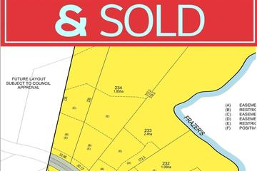Recently Sold Lot 234 Stanley Drive, BEECHWOOD, 2446, New South Wales
