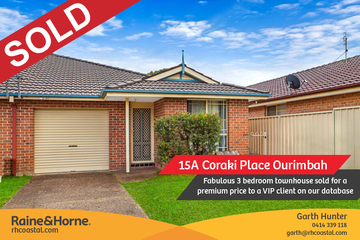 Recently Sold 15A Coraki Place, OURIMBAH, 2258, New South Wales