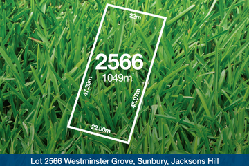 Recently Sold Lot 2566 Westminster Grove, SUNBURY, 3429, Victoria