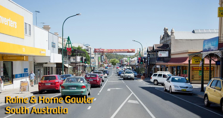 Gawler South Australia Main Street Raine&Horne Gawler