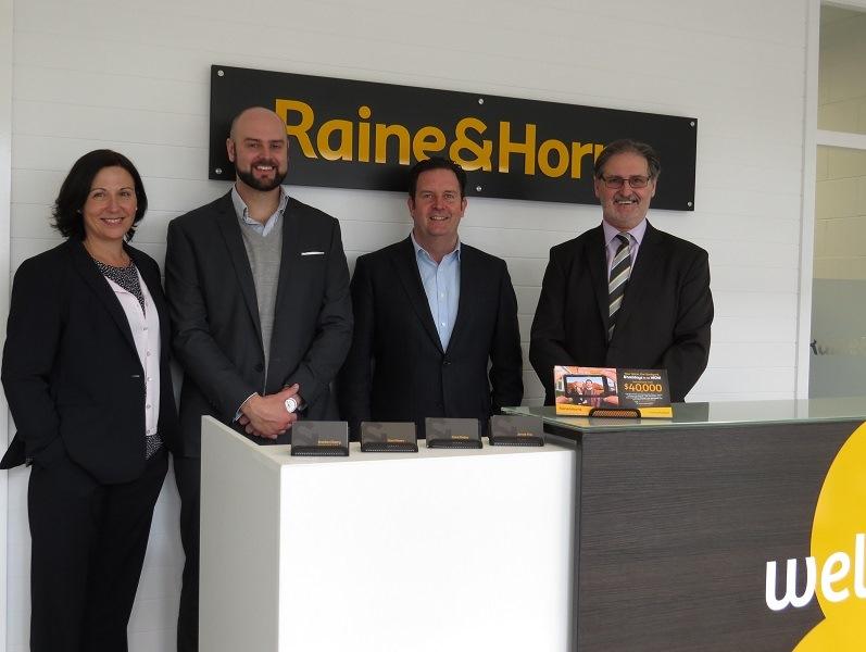 Raine & Horne Katoomba with Angus Raine (second right)