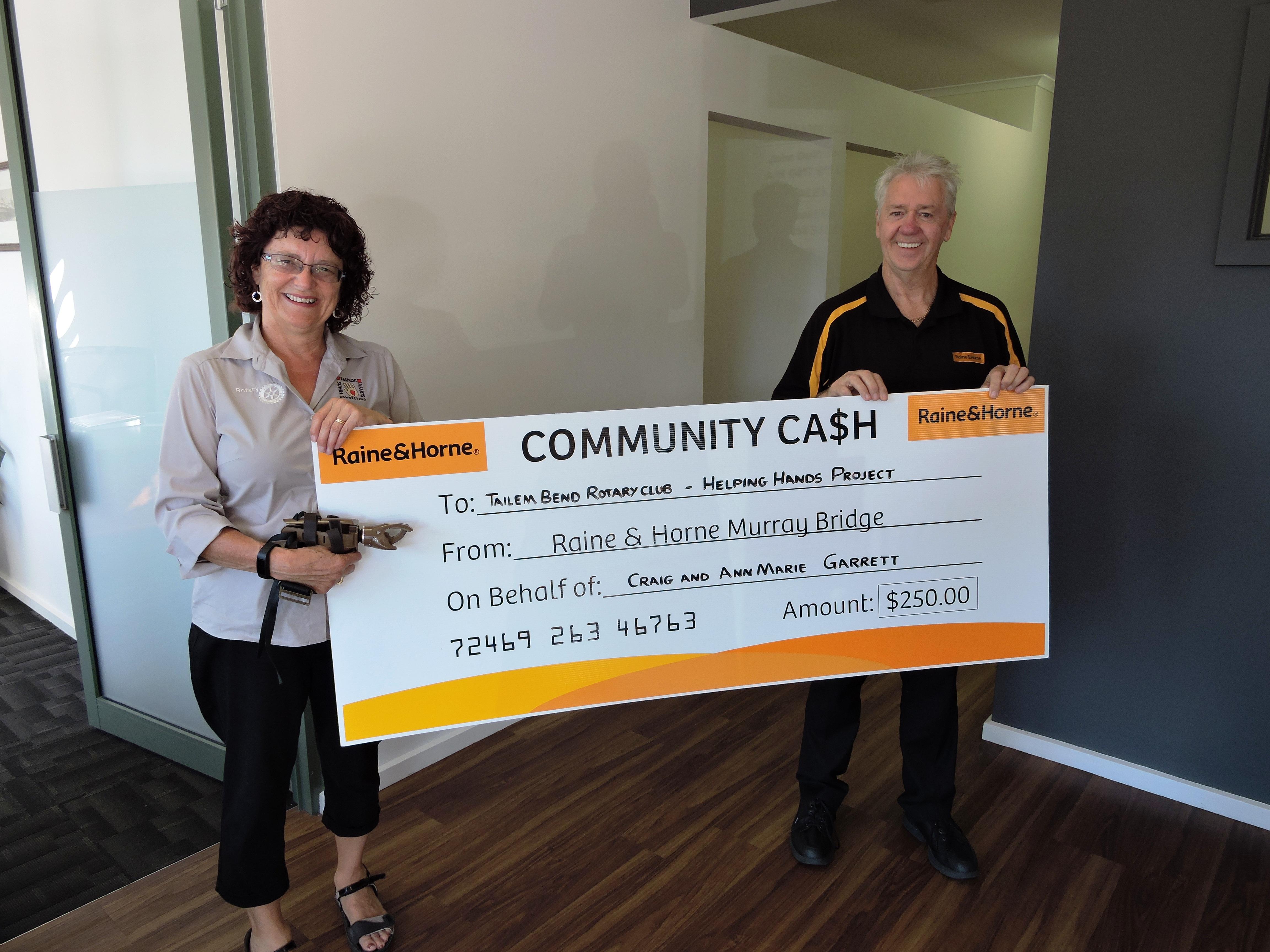 Tailem Bend Rotary Club - Murraylands Community Cash