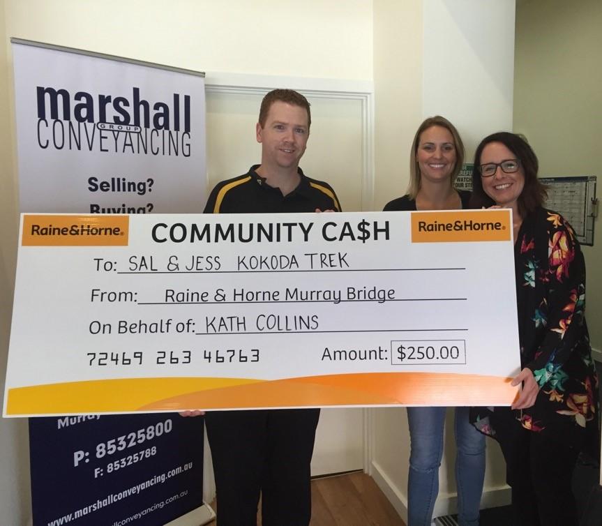 Community Cash - Sal & Jess