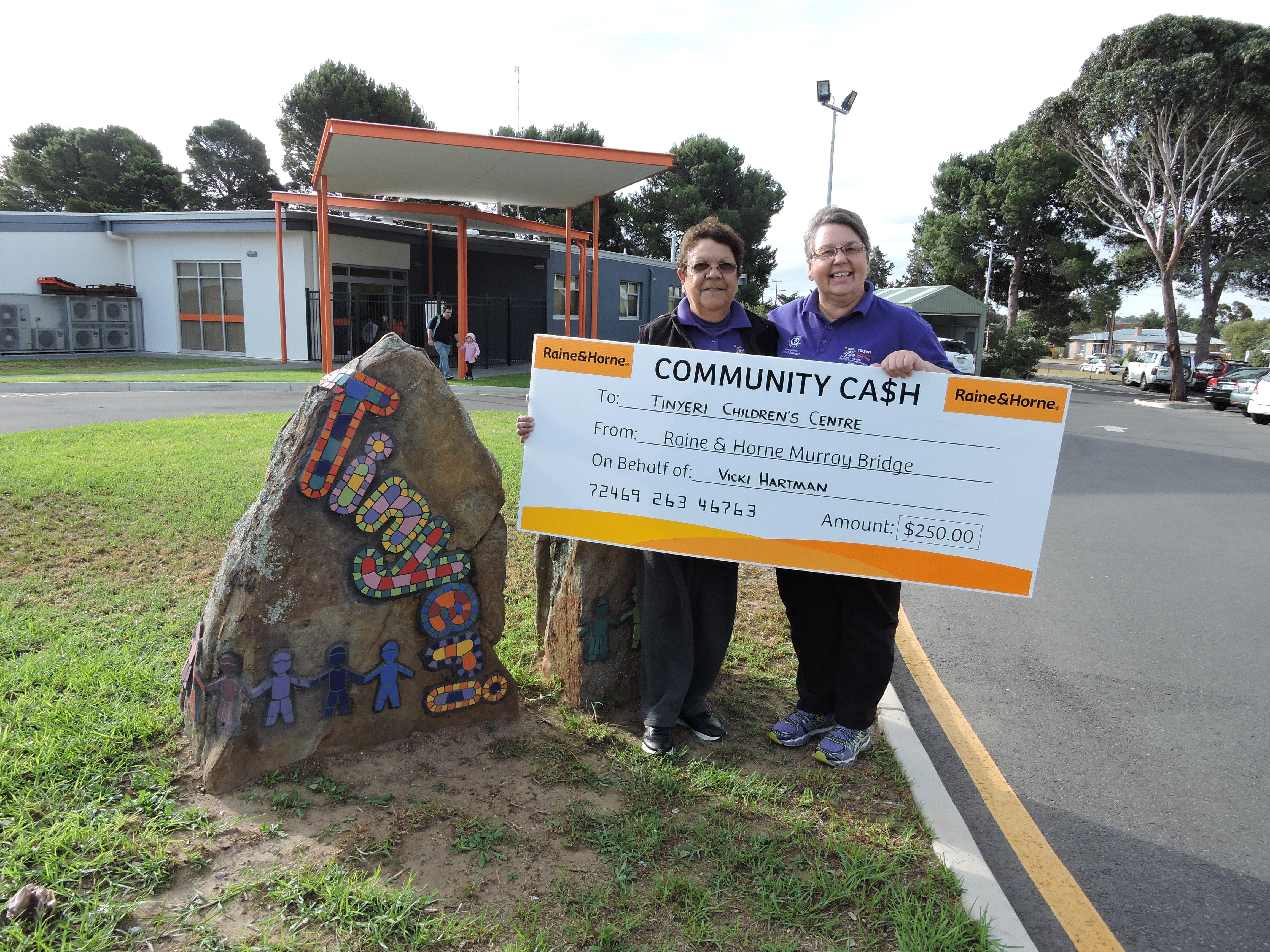 Community Cash - Tinyeri Kindergarden Murray Bridge