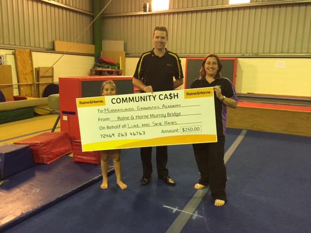 Community Cash - Murray Bridge Gymnastics