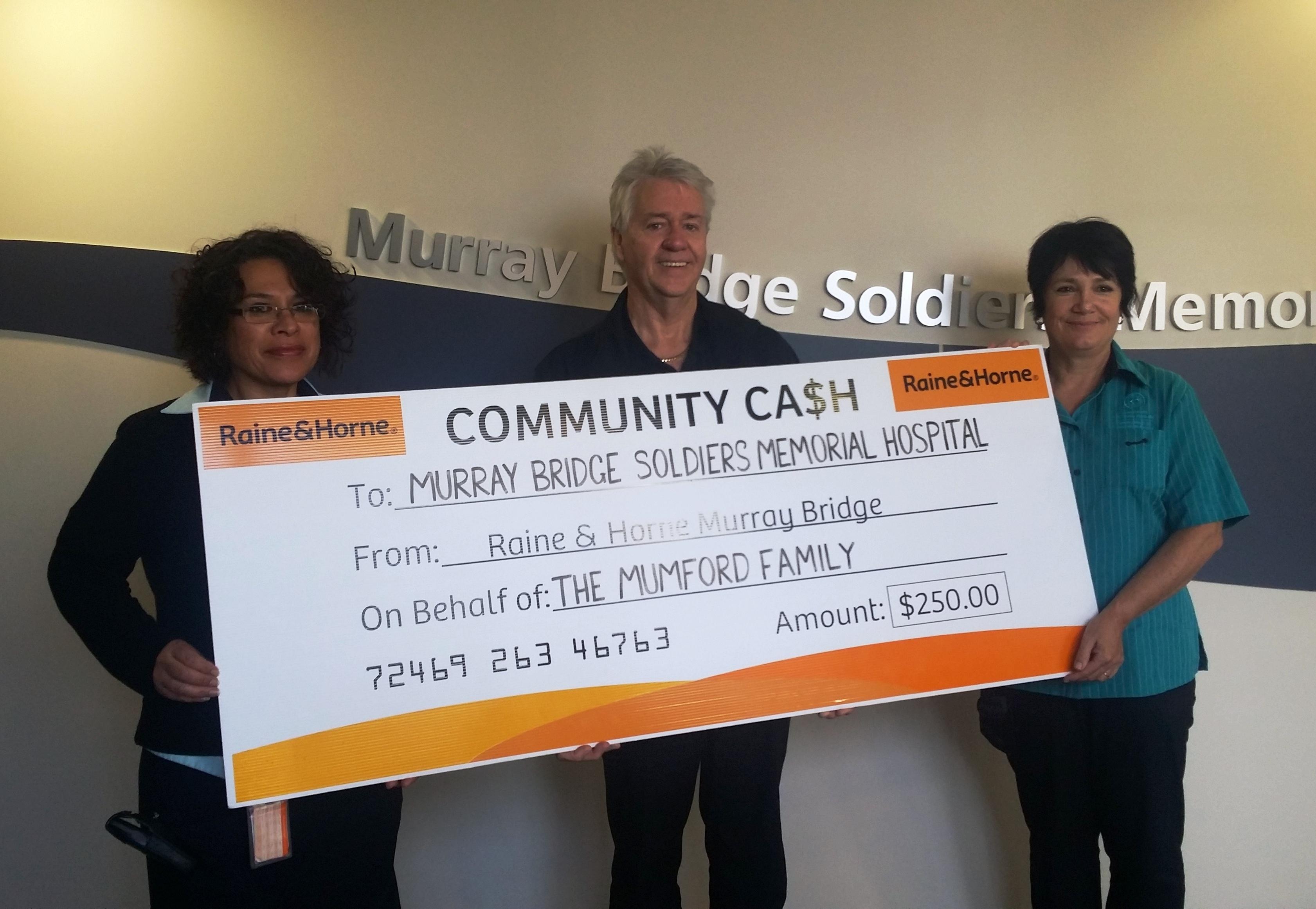 Community Cash - Murray Bridge Hospital