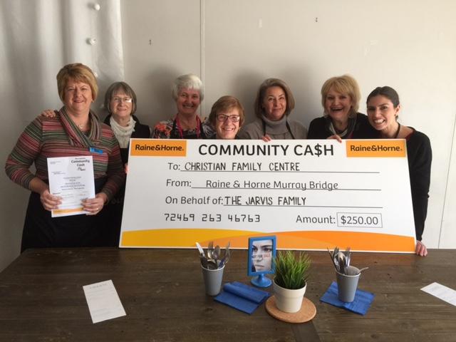 Community Cash - Murray Bridge CFS