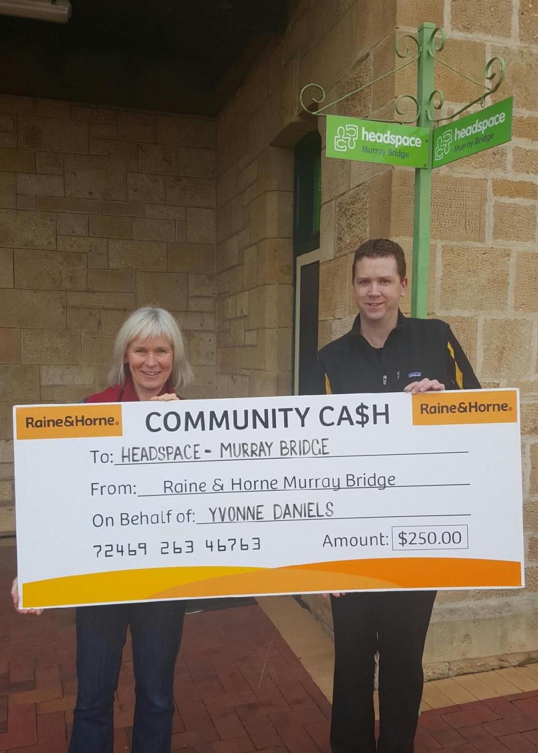 Community Cash - Headspace