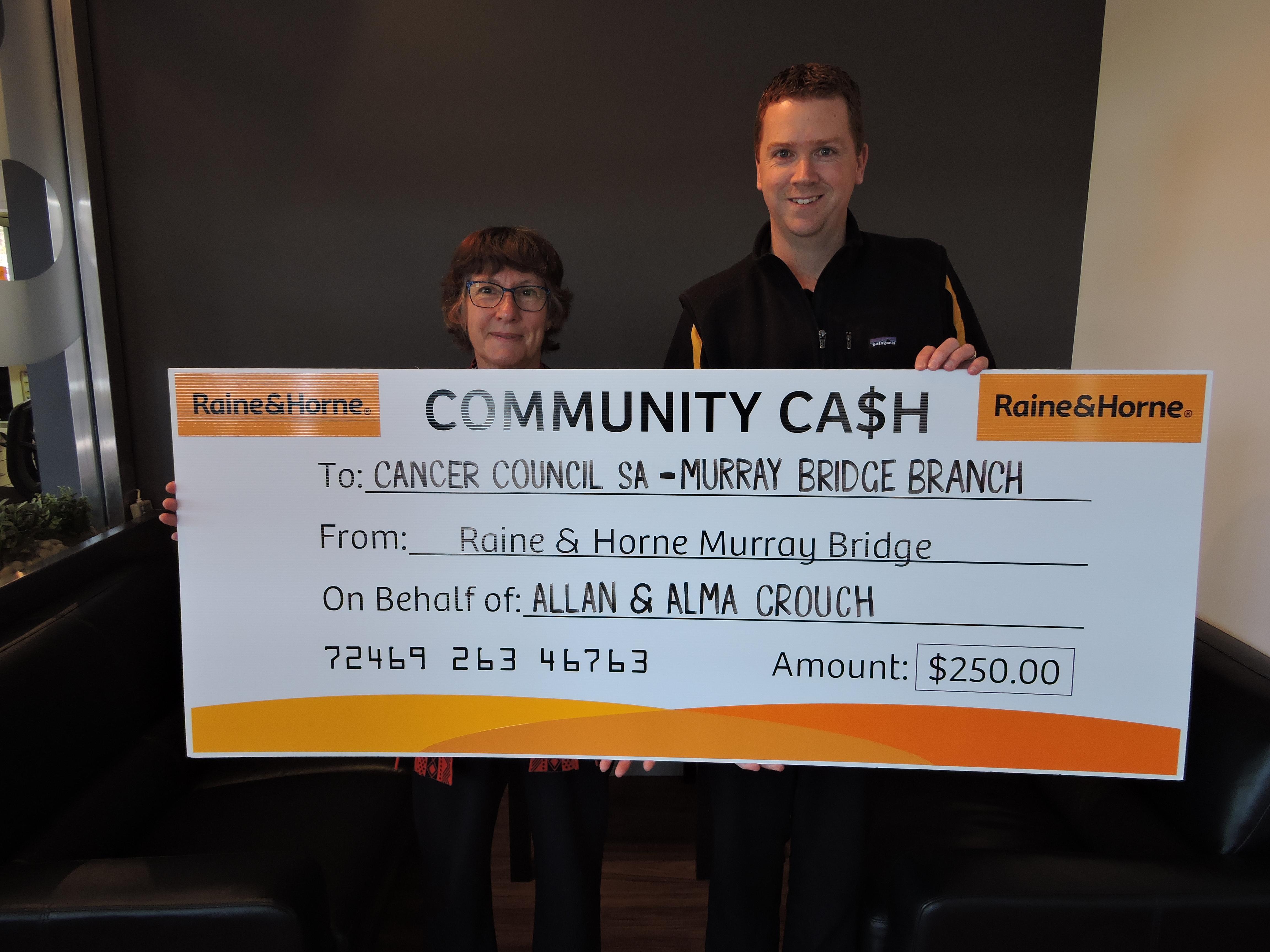 Community Cash - Cancer Council