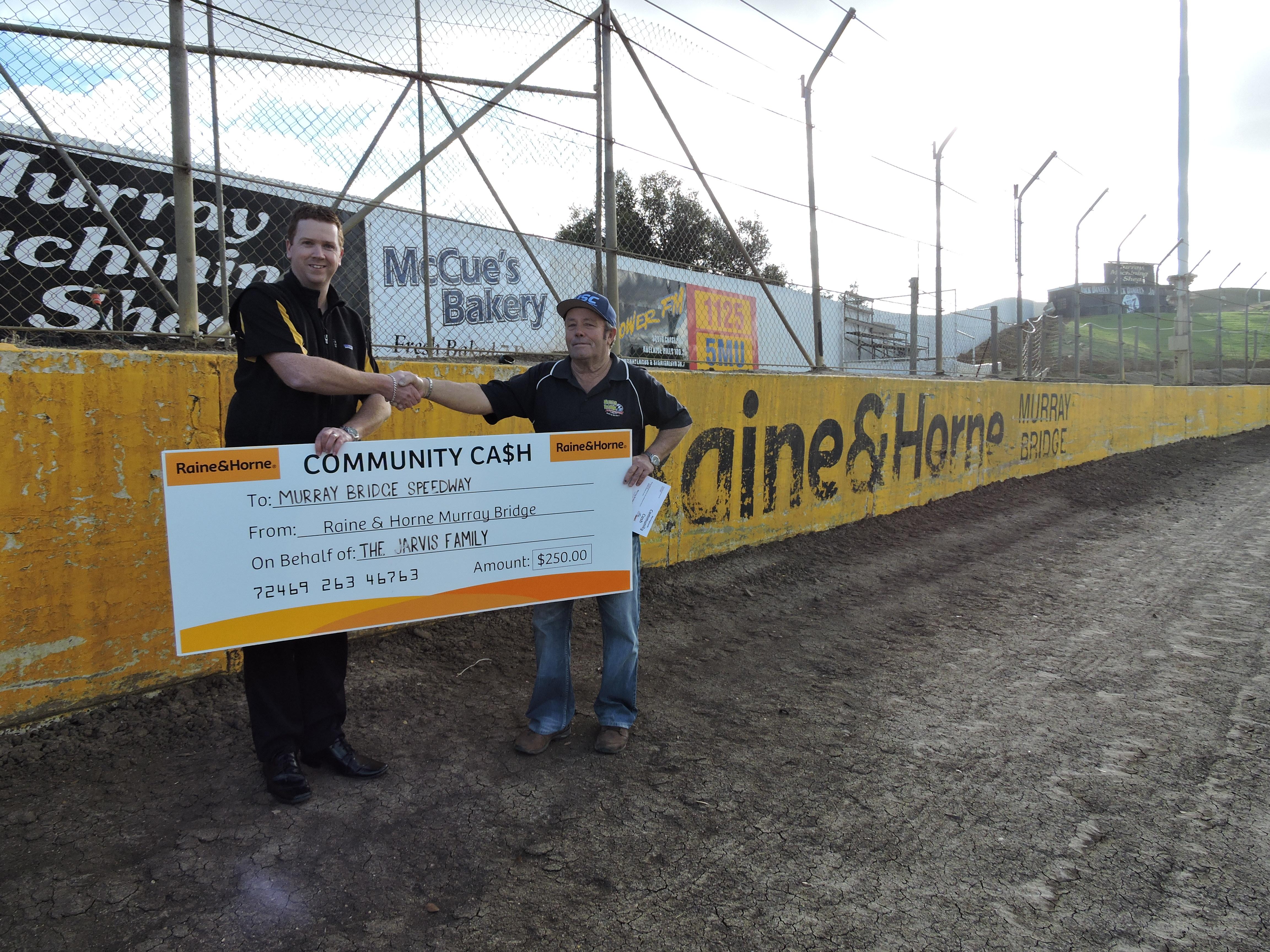 Community Cash - Murray Bridge Speedway