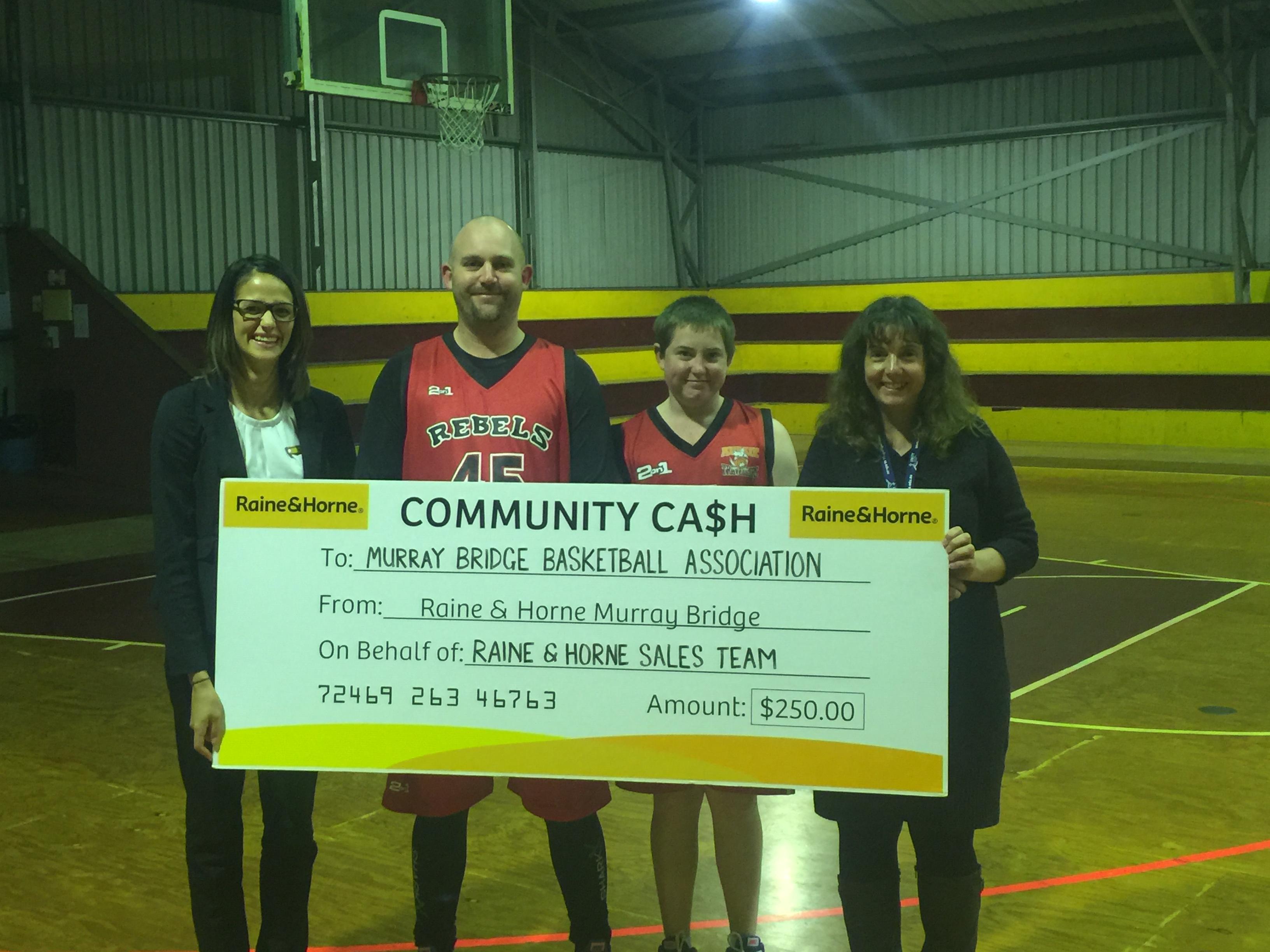 Community Cash - Murray Bridge Basketball Association
