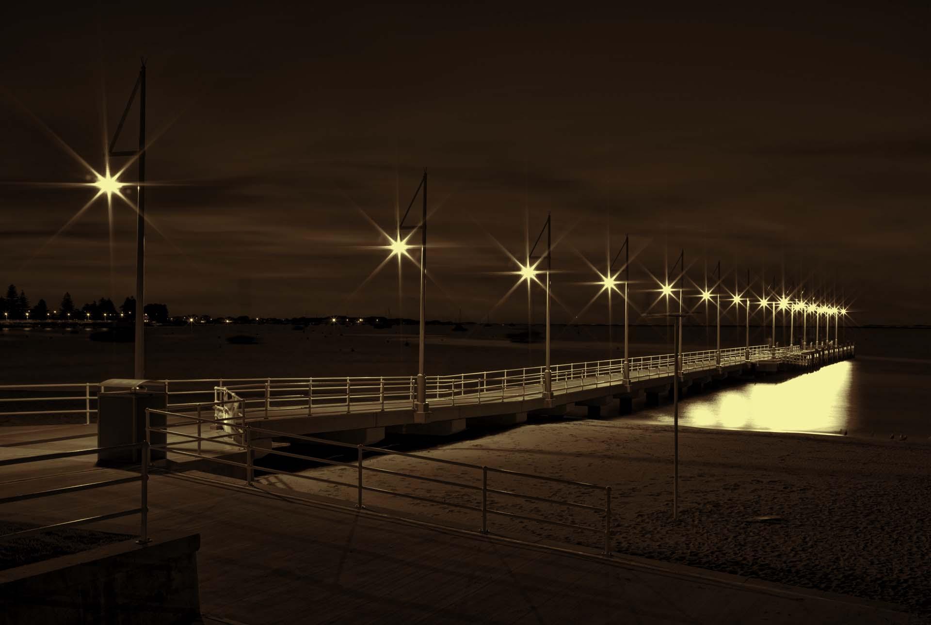 Rockingham at night