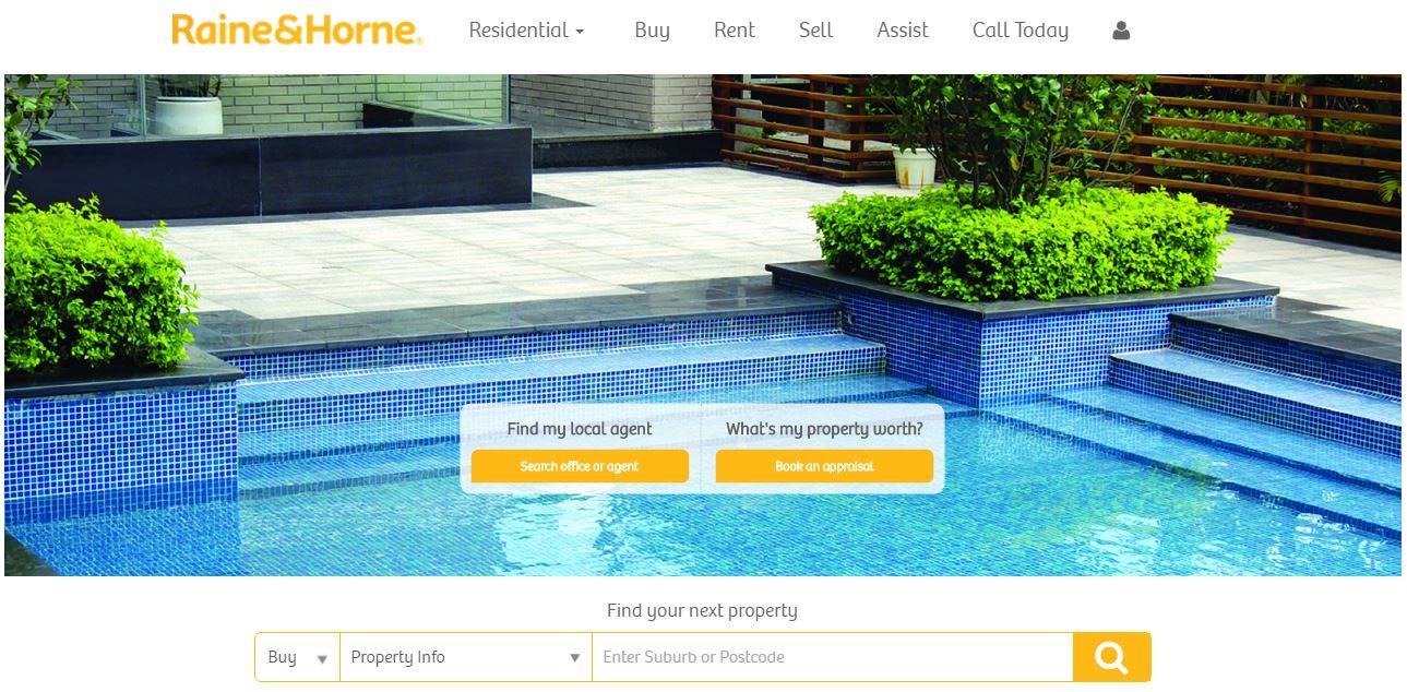 Raine & Horne website phase 2