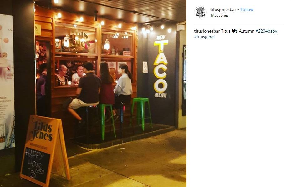 Titus Jones Bar - Marrickville