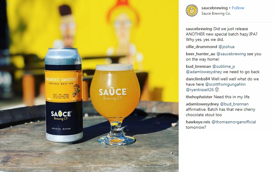 Sauce Brewing Company Marrickville