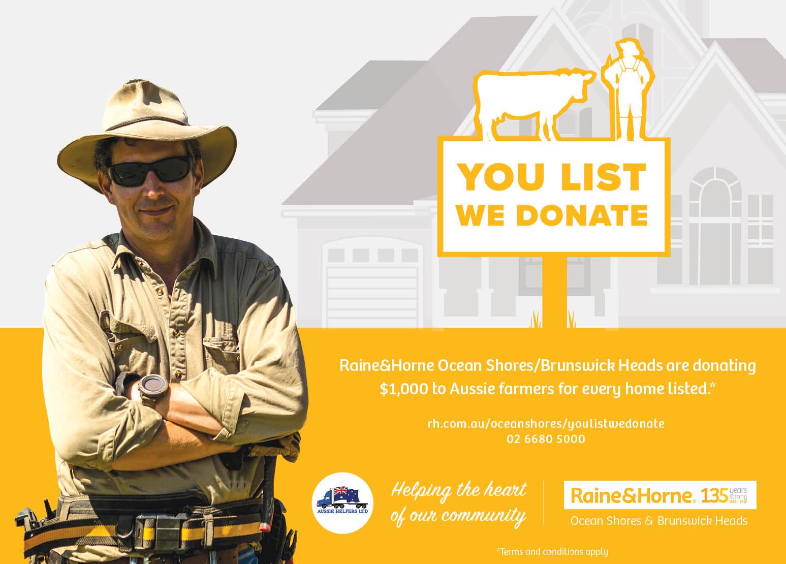Farmer Donation Advert