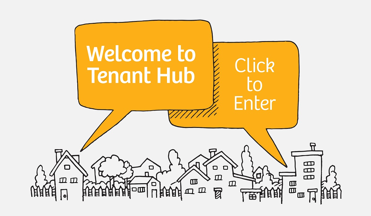 Click here to enter Tenant Hub