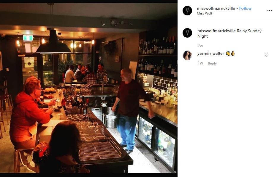 Miss Wolf - Marrickville Bar