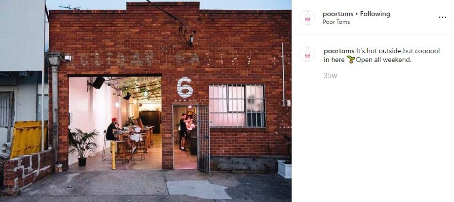 Poor Tom's Gin Distillery - Marrickville Bars