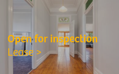 Lease - Open for Inspection