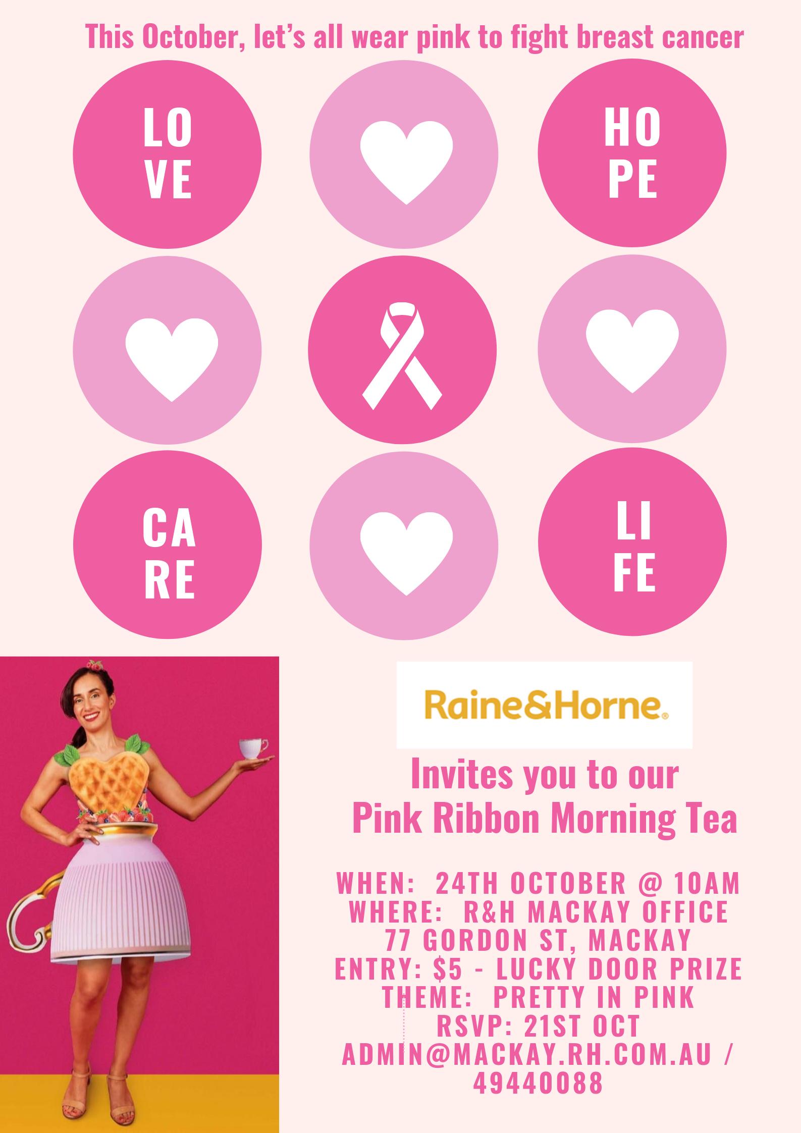 Pink Ribbon Morning Tea 2019