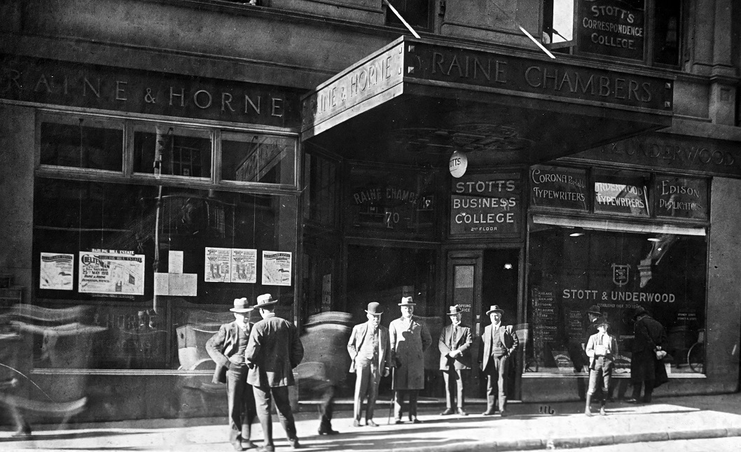 The first Raine&Horne office was opened in 1883 by Tom Raine and Joseph Horne