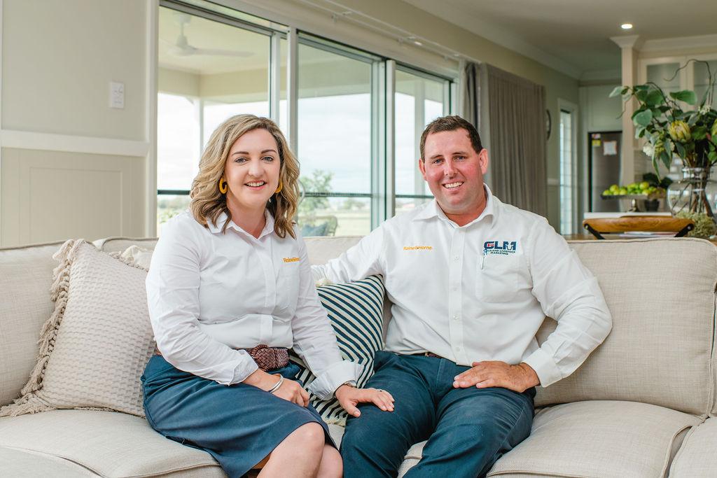 Hannah Gilliland & Brendan Gilliland property agents of Raine & Horne Dalby