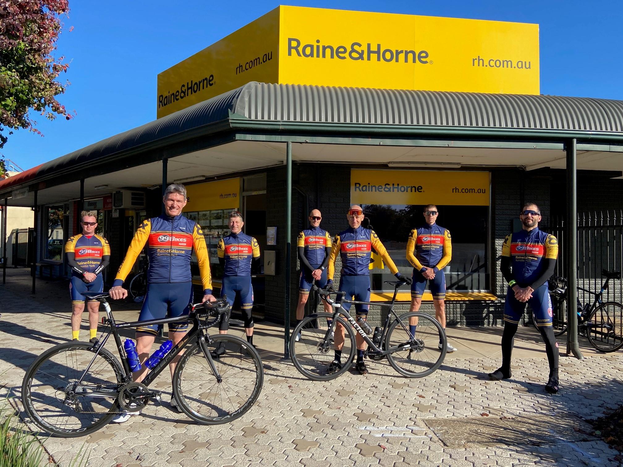 99 Bikes Marion, Raine&Horne Kurralta Park by Tactic Cycling Team