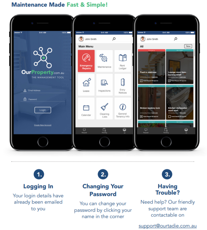 Our Tenant App
