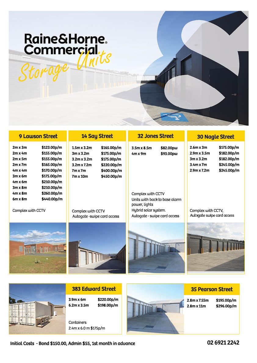 Storage Units Wagga Wagga
