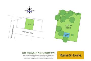 Recently Sold Lot 9, 1-3 Missingham Parade, ROBERTSON, 2577, New South Wales