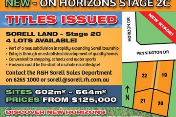 Recently Sold Lot 20 Pennington Drive, SORELL, 7172, Tasmania