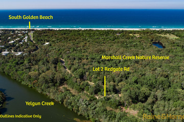 Recently Sold Lot 2 Redgate Road, SOUTH GOLDEN BEACH, 2483, New South Wales