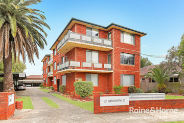 Recently Sold 9/22 Wentworth Street, CROYDON PARK, 2133, New South Wales