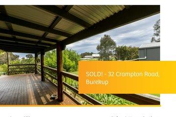 Recently Sold 32 CRAMPTON ROAD, BUREKUP, 6227, Western Australia