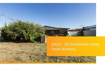 Recently Sold 28 Constitution Street, SOUTH BUNBURY, 6230, Western Australia