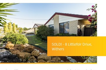 Recently Sold 8 LITTLEFAIR DRIVE, WITHERS, 6230, Western Australia