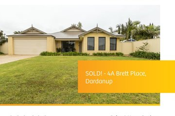 Recently Sold 4 A Brett Place, DARDANUP, 6236, Western Australia