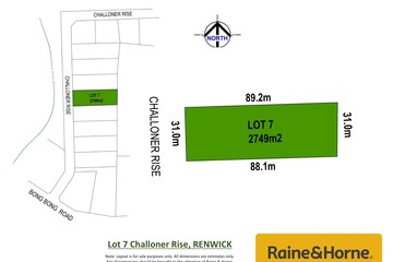 Recently Sold Lot 7 Challoner Rise, RENWICK, 2575, New South Wales