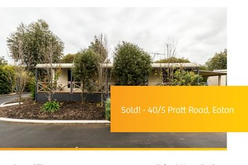 Recently Sold 40/5 Pratt Road, EATON, 6232, Western Australia